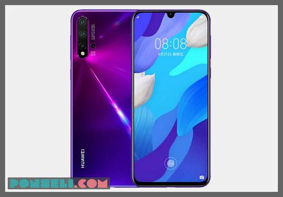 Desain Huawei Nova 5 Pro