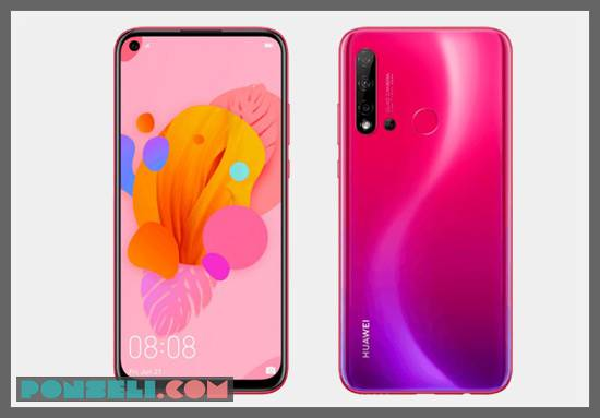 Desain Huawei Nova 5i