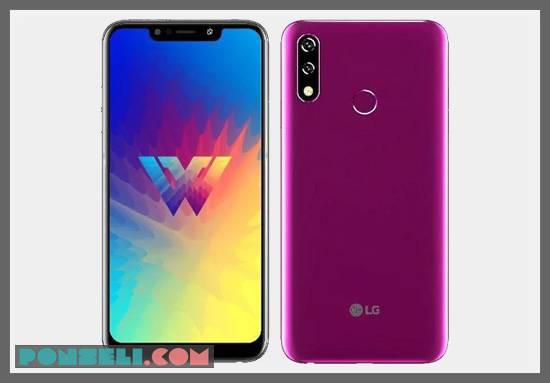 Desain LG W10