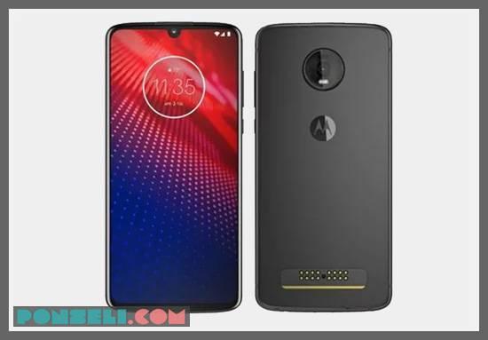 Desain Motorola Moto Z4