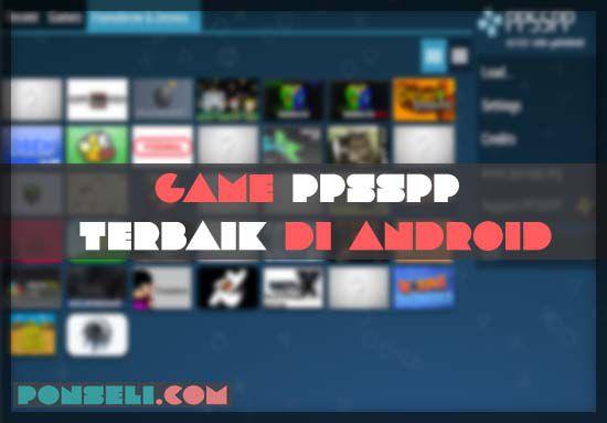 Game PPSSPP Terbaik Di Android