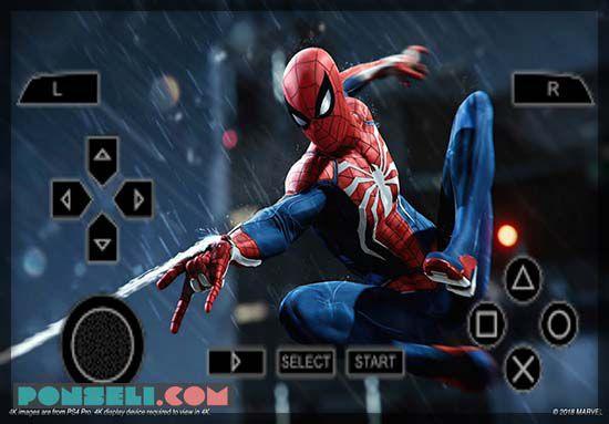 Spiderman PPSSPP