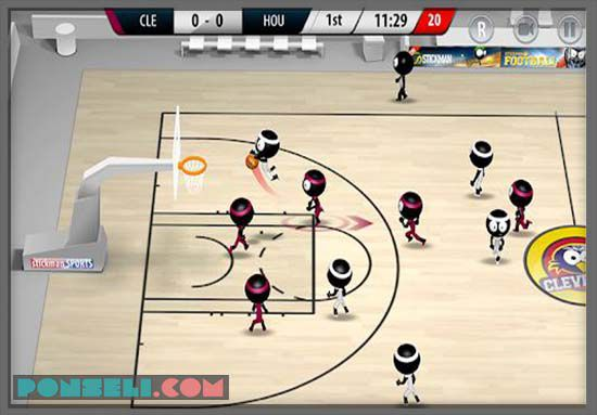 Stickman Basket ball