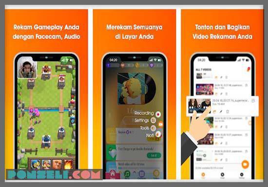Aplikasi Perekam Layar HP Xiaomi