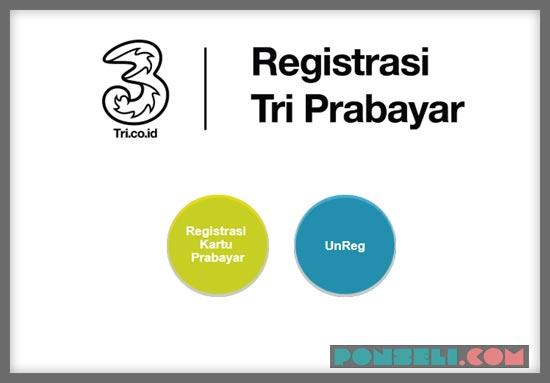 Cara Registrasi Kartu 3