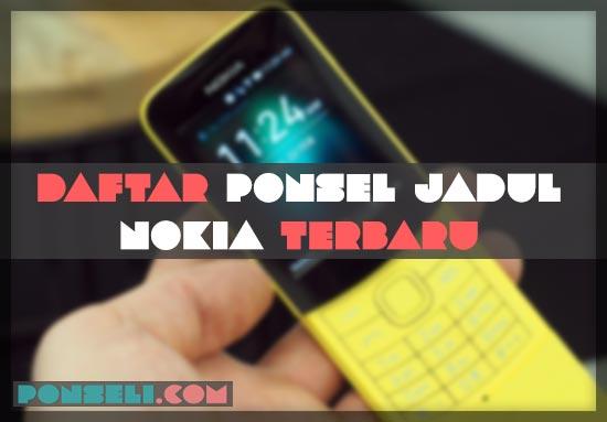Daftar Hp Nokia Jadul Terbaru