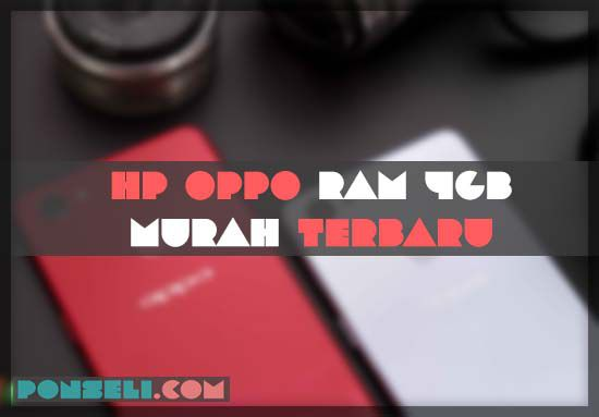 HP OPPO RAM 4GB Murah