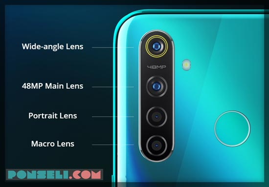 Kamera Realme 5 Pro