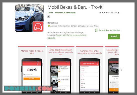 Aplikasi Jual Beli Mobil Bekas Terbaik