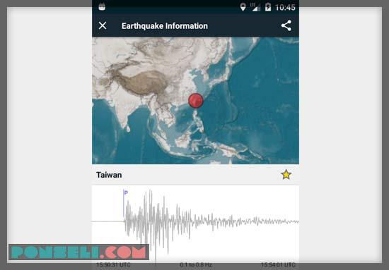 Aplikasi Pendeteksi Gempa Bumi