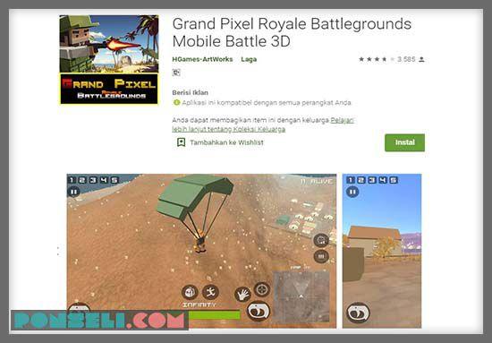 Grand Pixel Royale