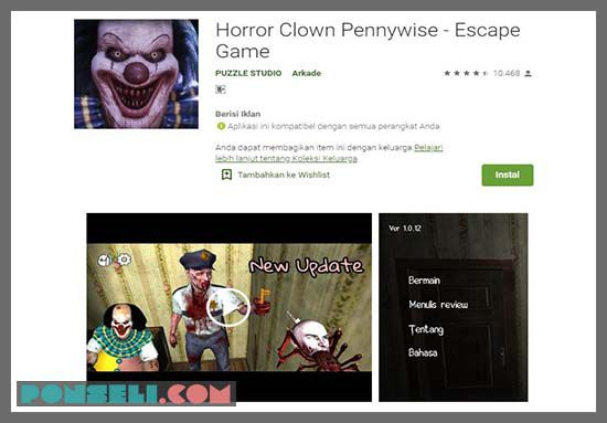Horror Clown Penyywise