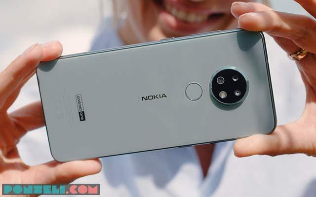 Kamera Nokia 6.2