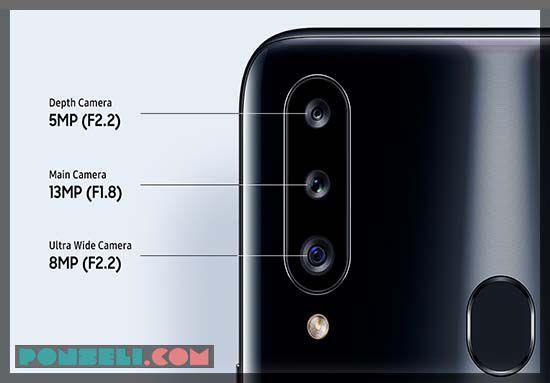 Kamera Samsung Galaxy A20S