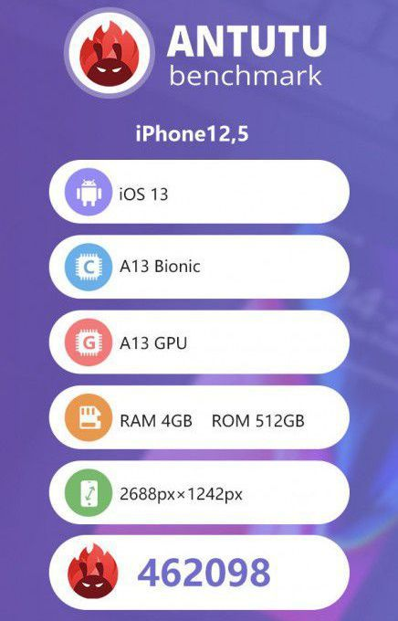 Skor Antutu iPhone 11 Pro Max