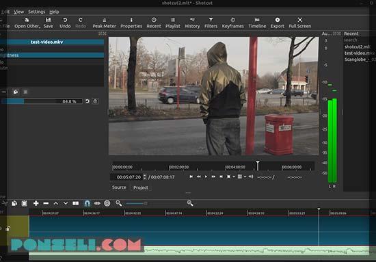 Aplikasi Edit Video Shotcut