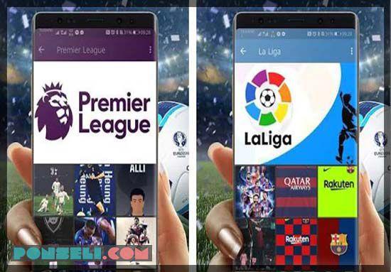 Aplikasi Sepak Bola Wallpaper