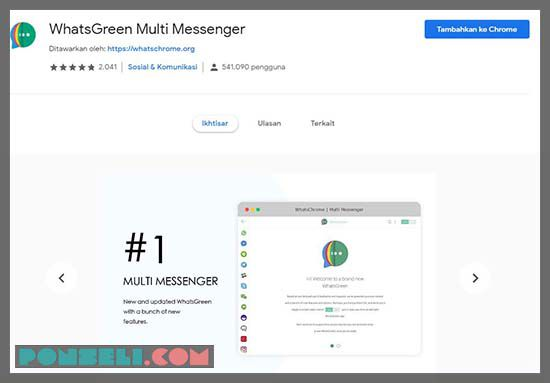 Aplikasi Whatsapp For Google Chrome