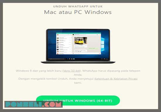 Aplikasi Whatsapp For PC