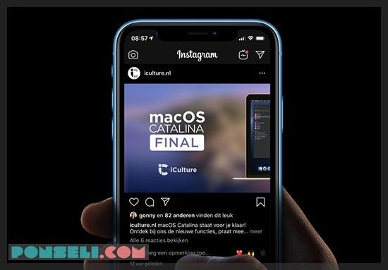 Cara Mengaktifkan Instagram Dark Mode Android