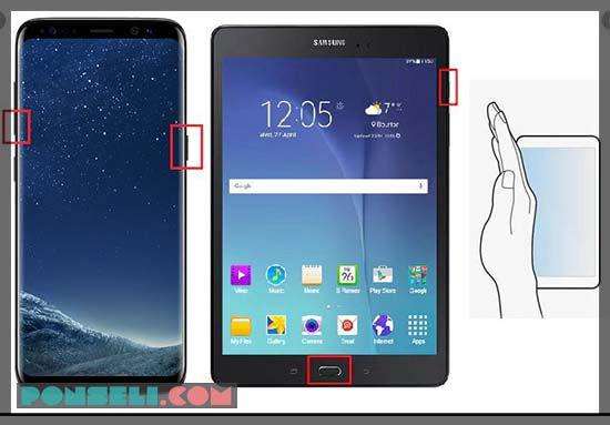 Cara Screen Shot HP Android