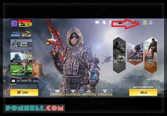 Cara Top Up Call Of Duty Dengan Mudah