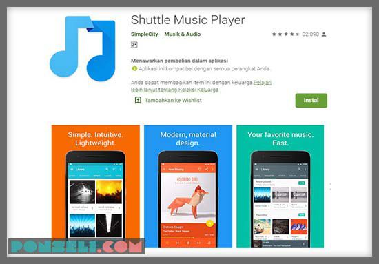 Shuttle Music Playaer