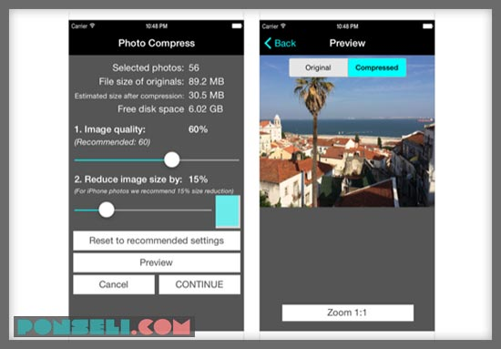 Cara Merubah Ukuran Foto Menjadi 200 kb di iPhone