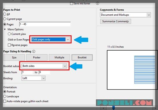 Cara Ngeprint Bolak Balik PDF