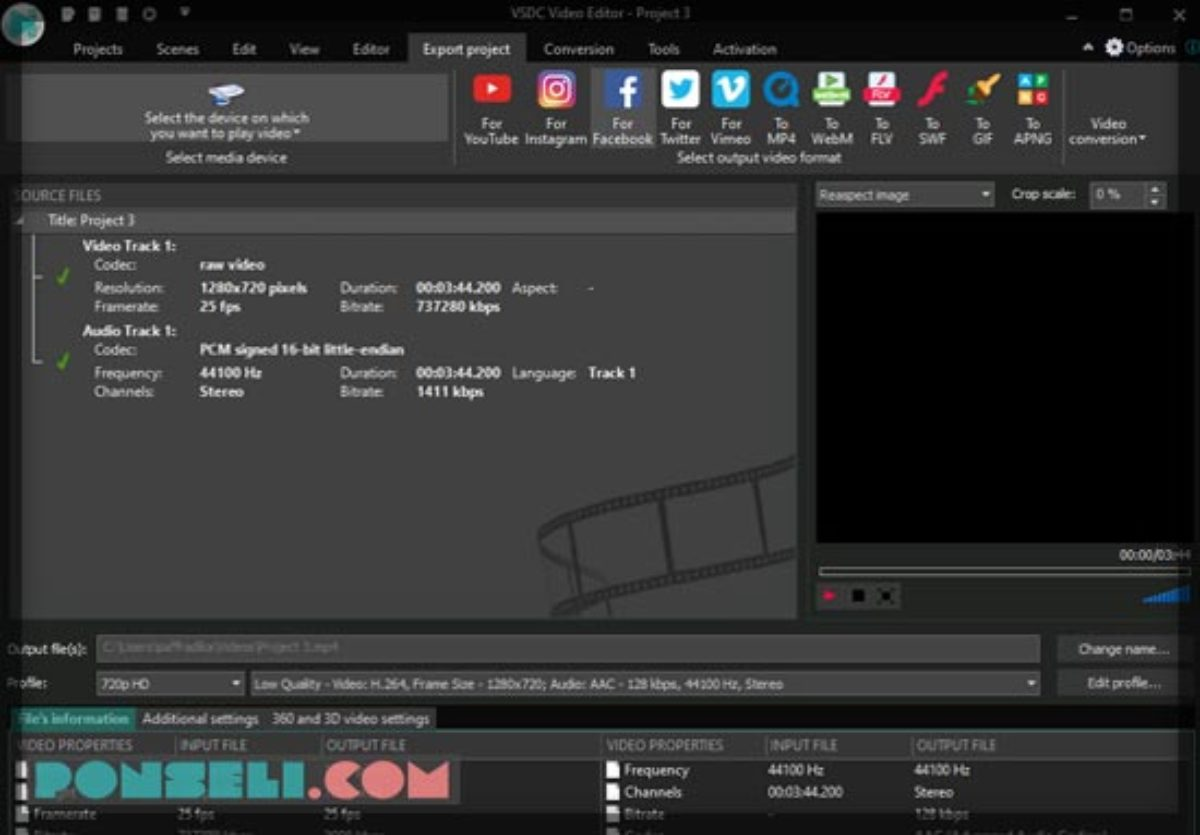 Fitur Aplikasi Editing Video Tanpa Watermark Gratis