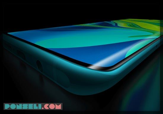 Layar Xiaomi Mi Note 10 Pro