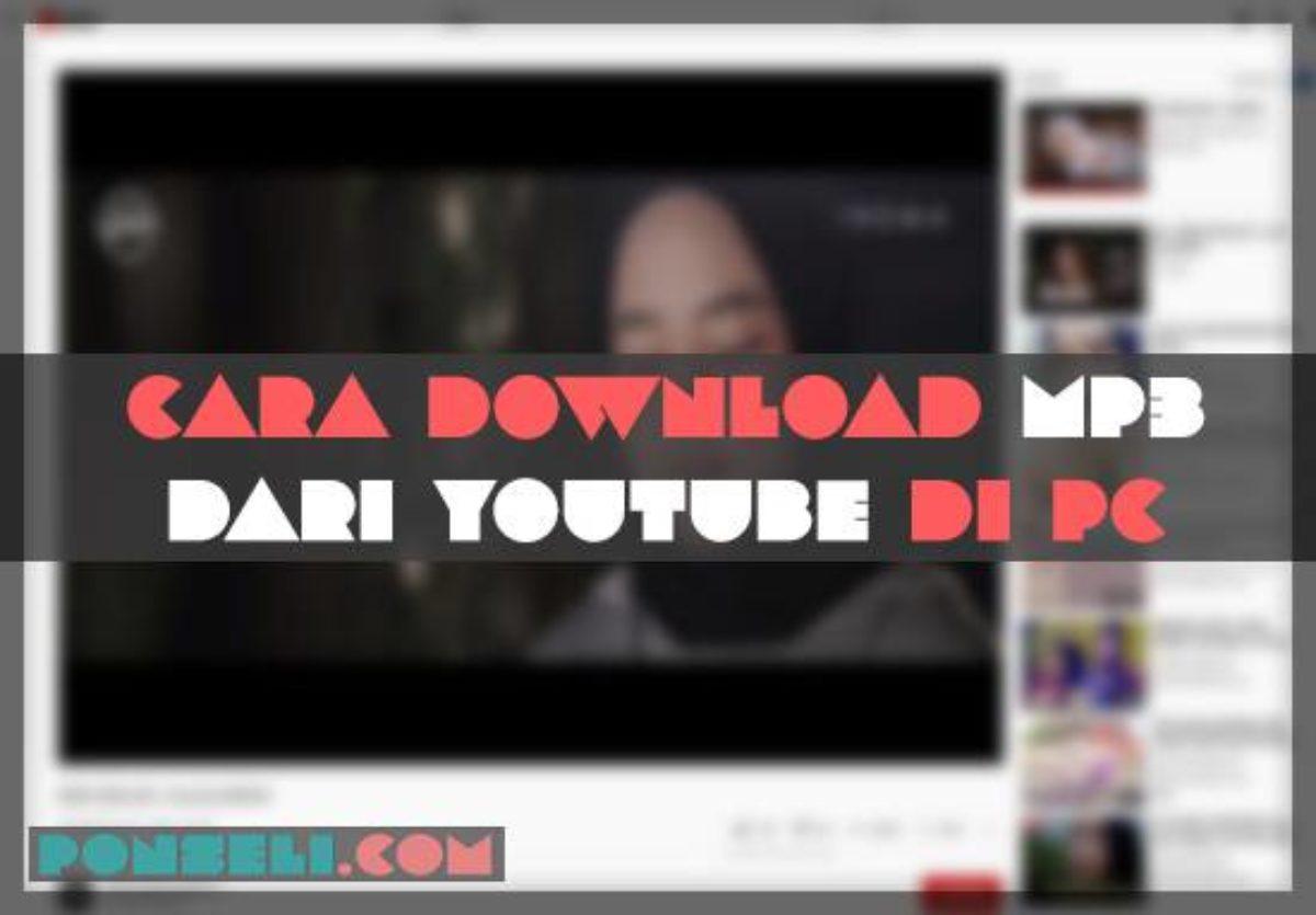 8 cara download mp3 dari youtube di pc