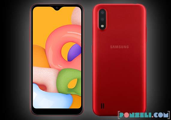Spesifikasi dan Harga Samsung Galaxy A01