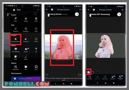 Edit Background Foto Di HP Dengan Aplikasi