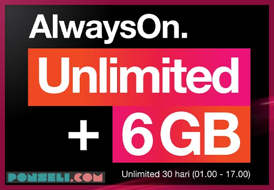 Paket Internet 3 Unlimited