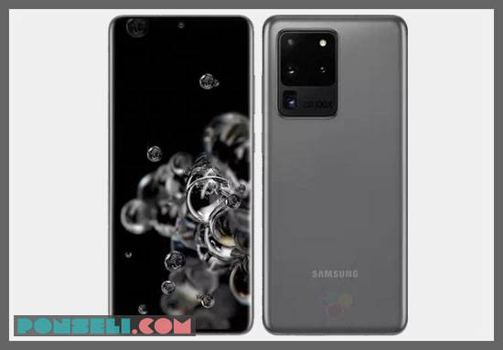 Spesifikasi Samsung Galaxy S20 Ultra