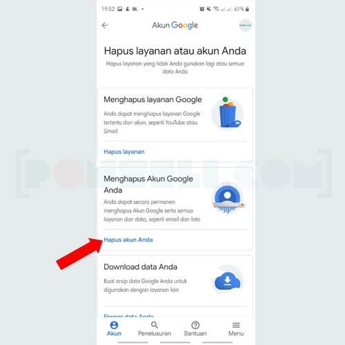Cara Hapus Akun Google dan Gmail