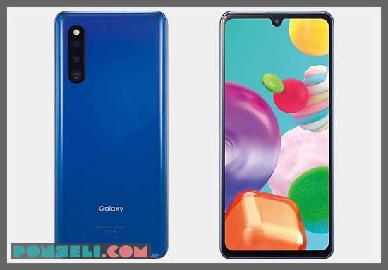 Desain Samsung Galaxy A41