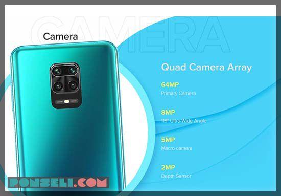 Kamera Xiaomi Redmi Note 9 Pro Max