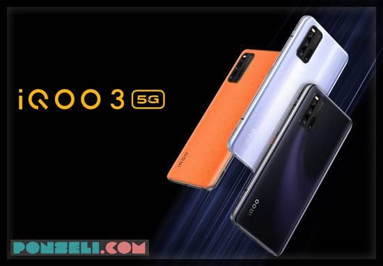 Spesifikasi Vivo iQOO 3 5G