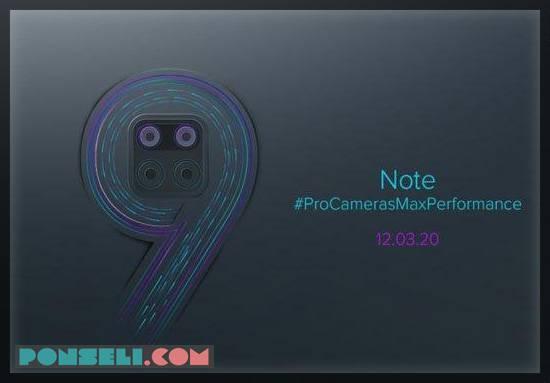 Spesifikasi dan Harga Xiomi Note 9 Pro