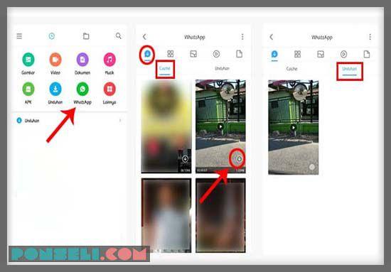 Download Story WHatsapp Di HP Xiaomi