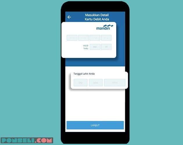 Cara Mendaftar Mandiri Online di Hp Android