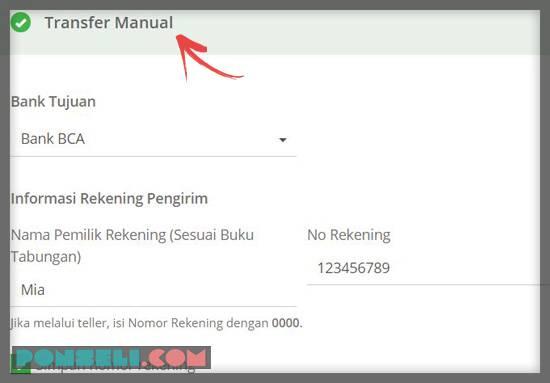 transfer manual