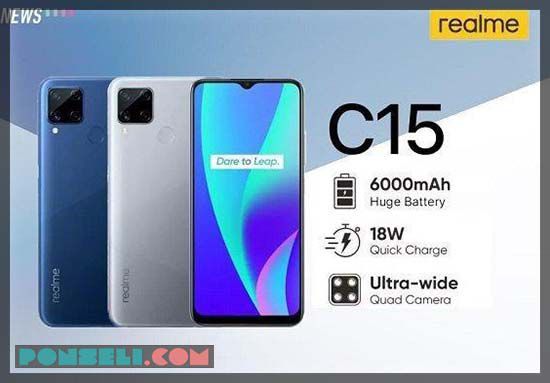 Harga Realme C15 Indonesia